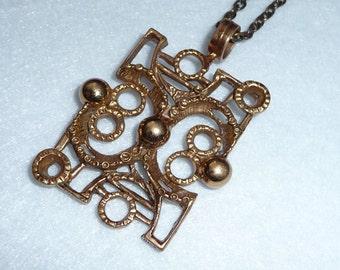 Pentti Peuri (Finland). Pendant. Bronze. Vintage.