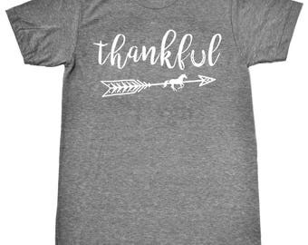 Thankful Equestrian Boho Style Shirt in Vintage Heather Colors