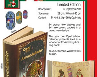 Opal Advent Calendar 2017 - Limited Edition - Pre Order
