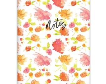Botanical 5x7 Pocket Notebook | Blank Journal, Travel Journal, Thought Jotter