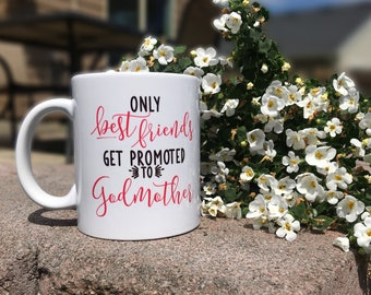 godmother mug / godmother gift / godmother / fairy godmother / baptism gift / gift for godmother / godparent gift / godmother coffee mug