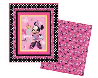 Modern quilt pattern   Etsy : minnie mouse quilt panel - Adamdwight.com