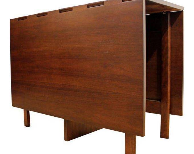Mid-Century Danish Modern George Nelson Herman Miller Drop-Leaf Dining Table