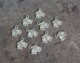 SALE - Trouser Pants Charms (10 pcs) 15 x 15 mm