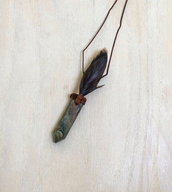 Mimosa, Picasso Jasper, Tiger Eye & Rooster Shamanic Traveling Wand OOAK Healing Pendant, Native American Reiki Energy, Magic Wand OOAK