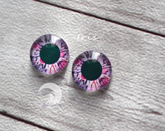 Eyechips for Pullip and Yeolume glass - size 12mm - Iris - NEW!