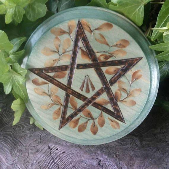 Druid Awen Altar Tile, Altar Paten, Altar Tile, Charging Plate, Awen, Druid, Altar, Witchcraft, Druid Altar, Druid Tools, Druid Gifts