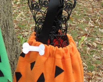 Bam Bam Inspired Costume - Orange
