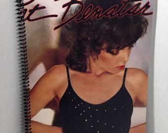 Pat Benatar Album Cover Notebook Handmade Spiral Journal Blank Composition Book