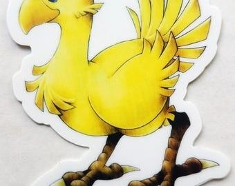 Chocobo Vinyl Sticker