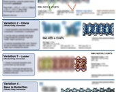 Chainmaille Tutorial - Byzantine Variations (Advanced) - PDF
