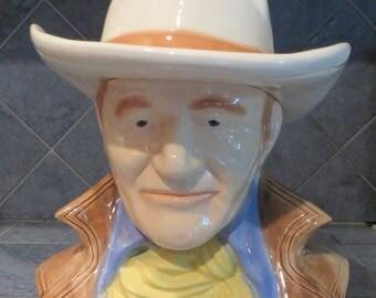 John Wayne cookie jar