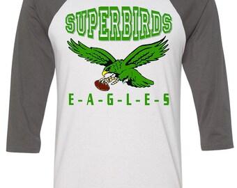 EAGLES SuperBirds Raglan Tee