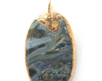 Pietersite Crystal - Pendent - Necklace - WOW AMAZING!!! Tigers Eye - Hawks Eye - Quartz - Jasper **RARE** From: Namibia , South Africa