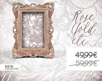 Rose Wood Bridal Photo Frame, Blooming Nuptials, Antique Flowered Wedding, Bloom Mariage, Flowering Baptism, Baby Birth, Newborn Baby Shower