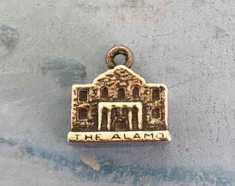 The Alamo Sterling Silver Pendant Charm 4.2g