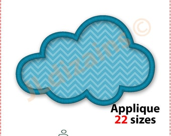 Cloud Applique Design. Cloud embroidery design. Embroidery design cloud. Applique design cloud. Embroidery cloud. Machine embroidery design