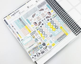 Never Give Up // Ultimate Weekly Planner Kit (280+ Planner Stickers)