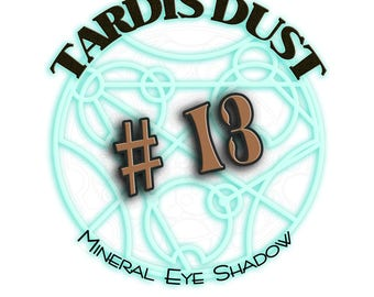TARDIS DUST *#13* Doctor Who Inspired Loose Mineral Eye Shadow  - The 13th Doctor Cinnamon Sugar