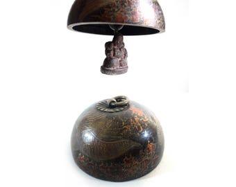 Small Buddha Bell, Asian Art, Buddhism Gong