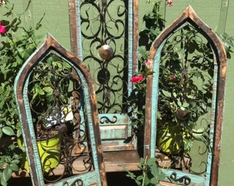 Vintage Cathedral Windows