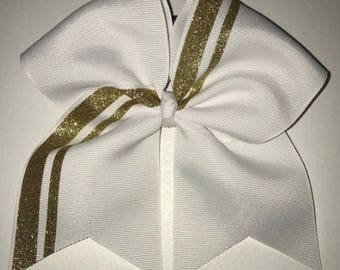Bow with 2 stripes