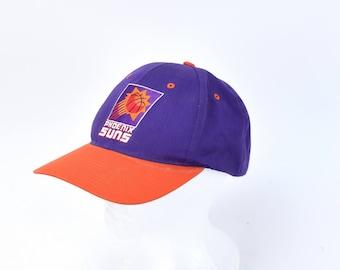 Vintage 90s Phoenix Suns NBA Snapback Hat Cap