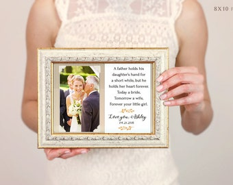 Father Of The Bride Gift, Father Thank You Gift, Father Of The Groom Gift, Father Of The Bride Frame, Father In Law Gift