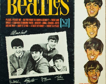 The Beatles Songs, Pictures And Stories Of The Fabulous Beatles Original Rock & Roll Beat 1964 Vintage Vinyl Record Album LP