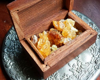 Golden Copal Incense, Witchcraft, Witch, Wicca, Supplies, Natural Incense, Smudging, Resin Incense, Incense, Yellow Copal, Metaphysical