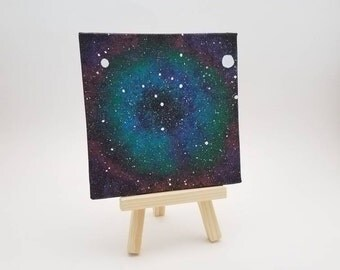 Acrylic Mini Space, Nebula, Galaxy Painting