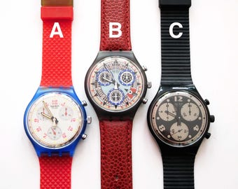Classic 1990s Swatch Chrono watches, pick one!