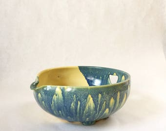 Handmade Ceramic Batter Bowl, Mixing Bowl