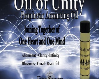 Oil Of Unity Prophetic Anointing Oil