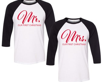 Mr and mrs tees  Etsy