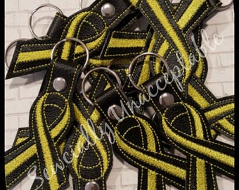 Yellow Ribbon Fundraiser Key Chains