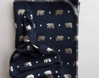 Knit Swaddle Blanket