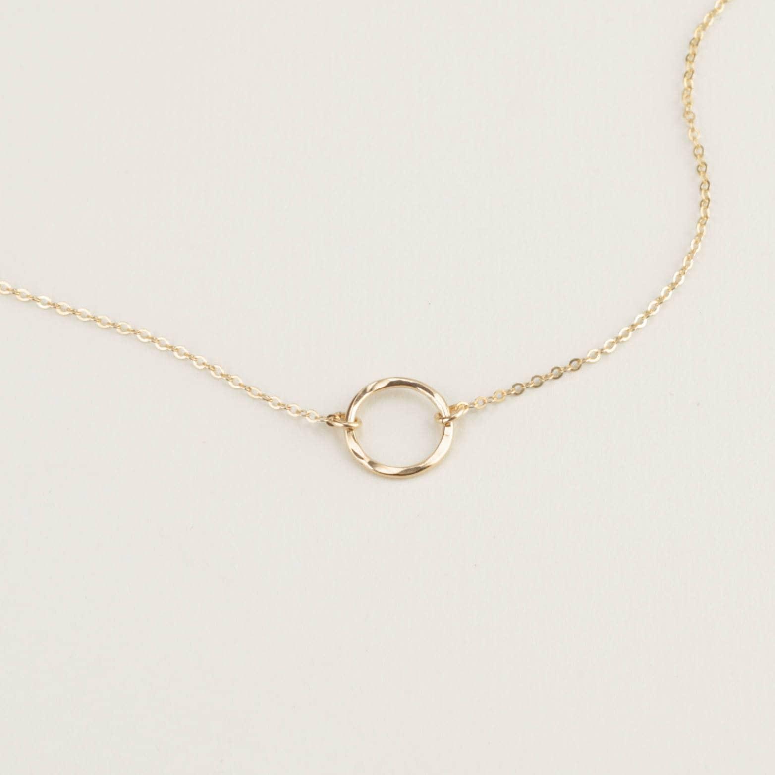 karma ring bracelet hammered eternity bracelet delicate