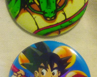 Dragon Ball (Set of 2 buttons, Pinback 2.25 inches)