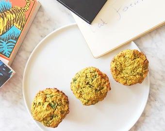 Organic Sweet Potato Pepper Gluten Free Muffins Low Carb Paleo