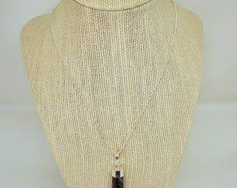 AMETHYST Gemstone satellite chain necklace