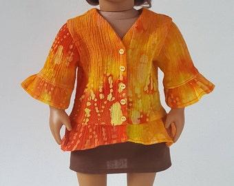 Batik Tunic with Mini-Skirt