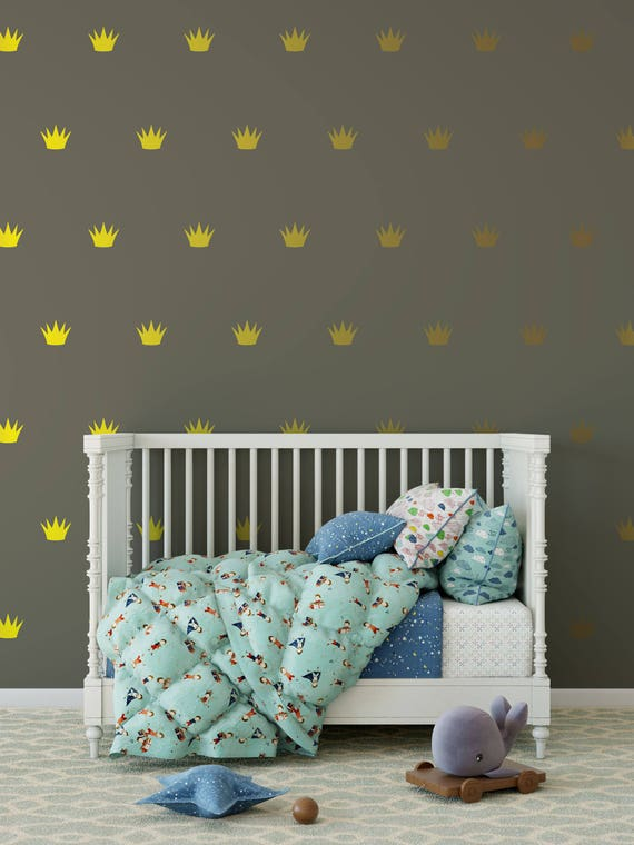 Crown Wall Decals Crown Stickers Party Decoration Where The Wild Things Are Crown Wall Decals  ABPT9