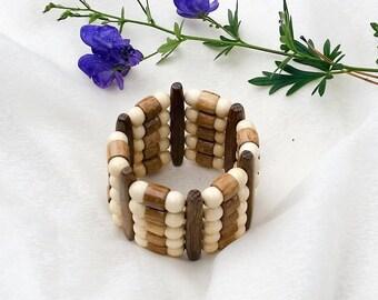 Beaded Bracelets, Elastic Bracelet, Chunky bracelet, Women Bracelets, Gift for Her