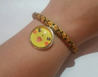 Pikachu inspired Friendship Bracelet