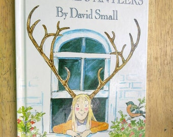 Imogenes Antlers , 1985 , David Small  , Childrens Book , Childs Book