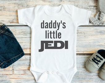 Daddy's Little Jedi Baby Bodysuit or Youth T Shirt