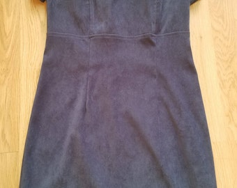 1960's  Navy Blue Madmen Secretary Dress