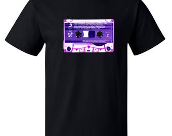 Only Built 4 Cuban Linx Purple Tape Cassette Wu-Tang Clan Raekwon 1995 Backprint Retro Old School Hip-Hop Nostalgia Unisex T-Shirt