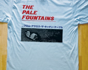 The Pale Fountains (Shack/Michael Head) From Across The Kitchen Table Tee/T-shirt